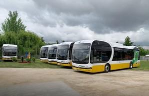 Китайская компания «BYD» поставила в португальскую Коимбру восемь новых электробусов