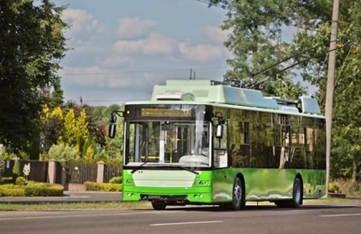 Харьковчанам рассказали, какими будут новые троллейбусы, которые сейчас изготовляют в Луцке