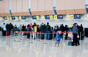 Международный аэропорт Харькова с начала года обслужил больше полумиллиона пассажиров