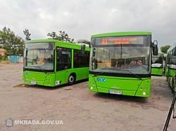 В Николаеве начали работать коммунальные автобусные маршруты