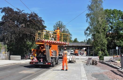 В Дрездене открыли новую трамвайную линию