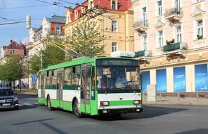 В чешском городе Марианские Лазни прекращается работа троллейбусов «Škoda 14 Tr»
