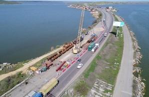 Отремонтировать мостовой переход через Хаджибейский лиман под Одессой обещают за полтора года