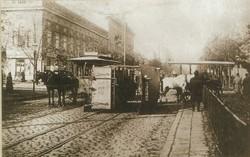 В воскресенье Одесса отпраздновала 139-летие с дня запуска конного трамвая