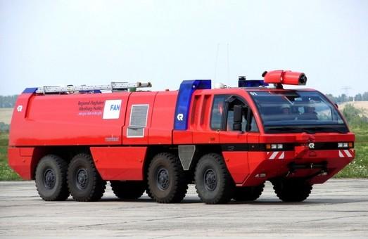 Николаевский аэропорт покупает специальную пожарную машину почти за 8 миллионов гривен