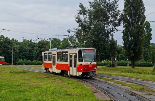 В Киеве ввели в эксплуатацию чешские трамваи «Tatra T6A5» из Праги