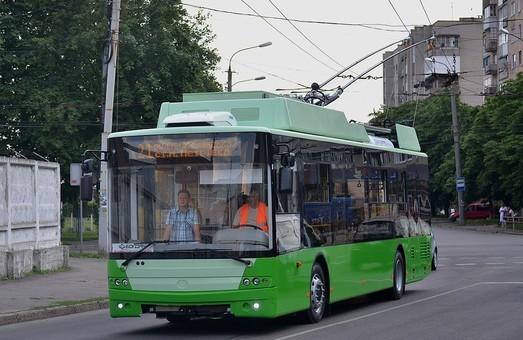 В Харькове обещают на протяжении недели выпустить на маршруты троллейбусы, купленные за кредит ЕБРР