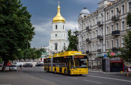 Киев получил первые троллейбусы-«гармошки» от корпорации «Богдан»
