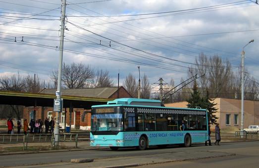 В Славянске планируют купить три новых троллейбуса