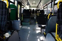 Частный перевозчик в Кривом Рогу выпускает на маршруты автобусы большого класса