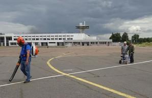 В аэропорту Черкасс готовятся к сертификации аэродрома
