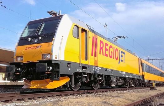 Железнодорожная компания «RegioJet» заявляет о повышении популярности своих поездов дальнего следования