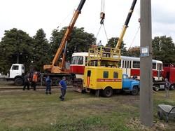 Первый модернизированный трамвай «Tatra T3» начал работу с пасажирами в Конотопе