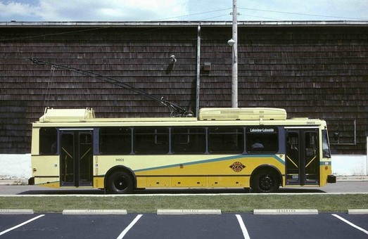 Дейтон выводит из эксплуатации чешские троллейбусы «Škoda 14 Tr»