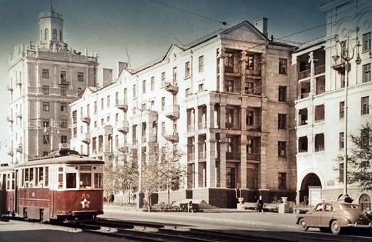Запорожскому трамваю вчера исполнилось 87 лет