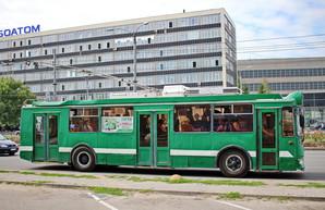 В Харькове один из троллейбусных маршрутов меняет свою трассу