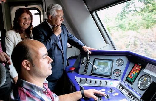 В Португалии электрифицировали два участка железных дорог