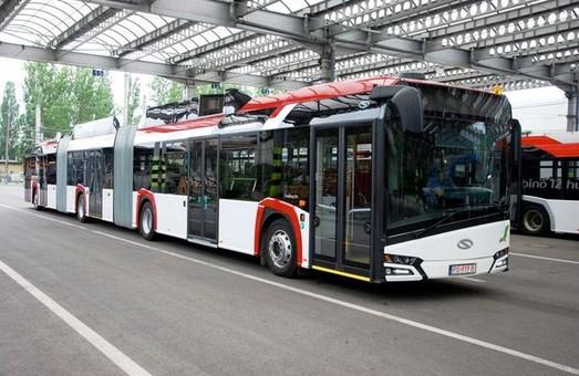 Польский трехсекционный троллейбус «Solaris Trollino 24» покажут на международной выставке в Брюсселе