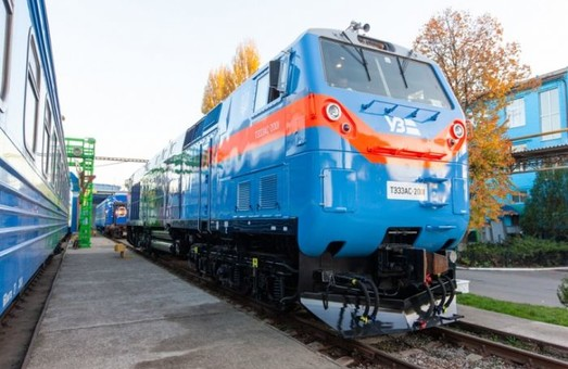 Американские локомотивы начали работать на Львовской железной дороге