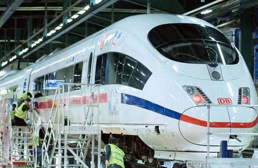 «Deutsche Bahn» будет развивать рембазу для высокоскоростных поездов