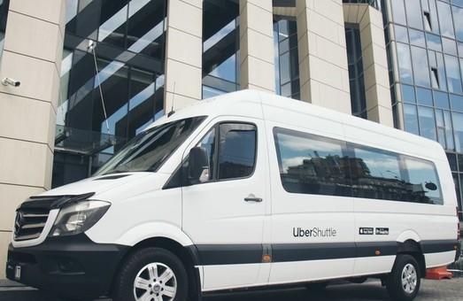 Компания «Uber» расширяет сеть своих автобусных маршрутов в Киеве
