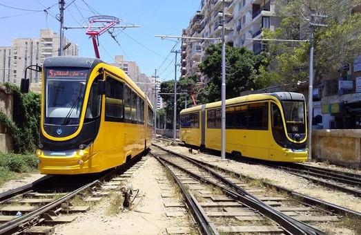 В египетской Александрии уже работает два украинских трамвая от «Татра-Юг»