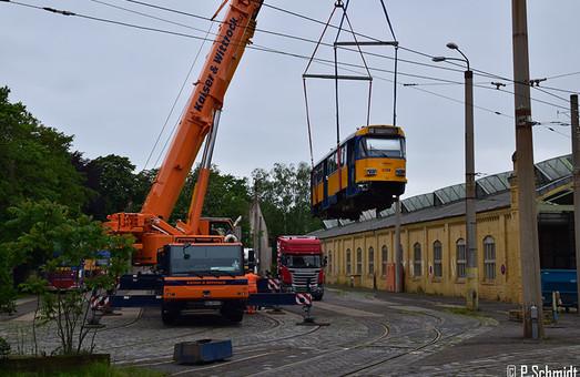«Бэушные» трамваи из Лейпцига начнут работать на маршрутах Днепра в конце августа этого года