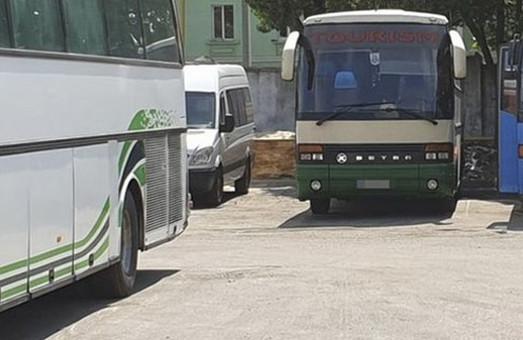 Сотрудники СБУ прекратили выполнение незаконных автобусных перевозок из Одессы в Луганск
