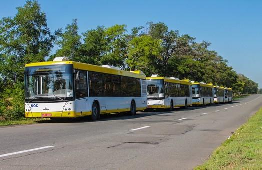 В Мариуполь прибыли первые пять автобусов, купленные за средства Международной финансовой корпорации