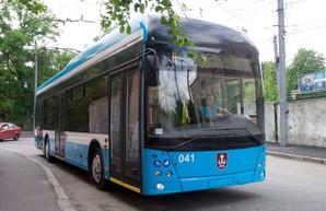 Троллейбус, построенный в Виннице на основе кузова автобуса МАЗ, получил собственное имя