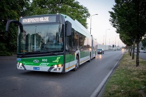В Милан начали поставлять польские троллейбусы «Solaris Trollino»