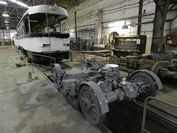 В Днепре обкатывают трамвайные вагоны из Лейпцига