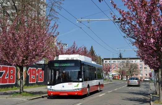Брно хочет закупить 40 новых троллейбусов с автономным ходом