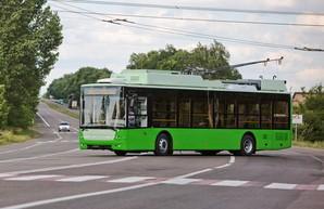 Луцкий автозавод компании «Богдан Моторс» отправил в Харьков новую партию троллейбусов