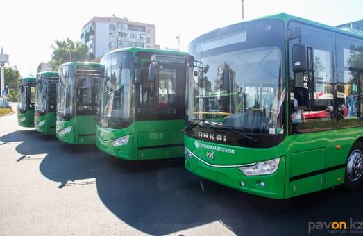 В казахстанском городе Павлодаре на маршрутах начали работать электробусы