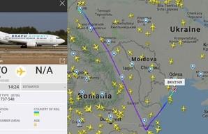 В Одессе совершил вынужденную посадку самолет авиакомпании «Bravo Airways»