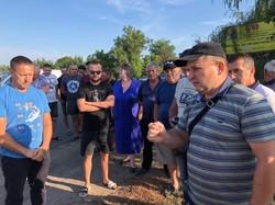 Вчера в Раздельнянском районе Одесской области снова перекрывали автотрассу