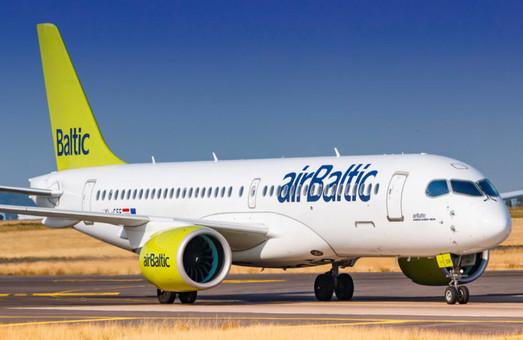 Маршрут Рига – Одесса обслуживает самый вместительный и современный самолет авиакомпании «airBaltic»