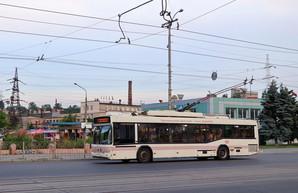 В Запорожье могут приостановить движение троллейбусов через плотину ДнепроГЭСа