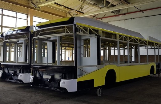 Концерн «Электрон» показал производство троллейбусов для Львова