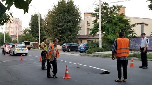 В Одессе закрыли движение на улице Львовской