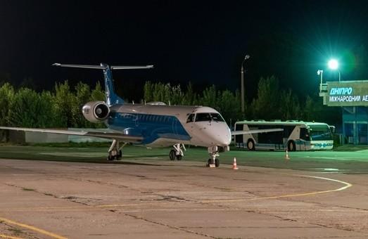 Аэропорт в Днепре обслужил с начала года почти 190 тысяч пассажиров