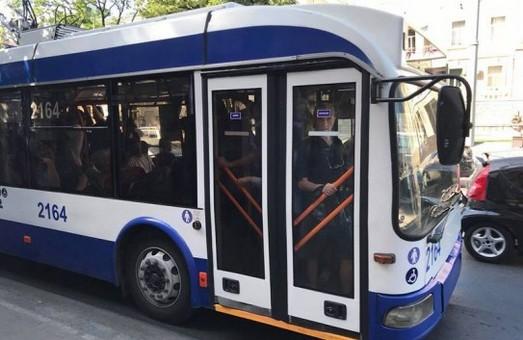 В столице Молдовы силами транспортной компании собрали еще пять троллейбусов