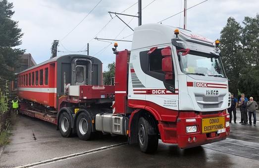 Пассажирские вагоны из Швейцарии будут работать в Африке на международной линии
