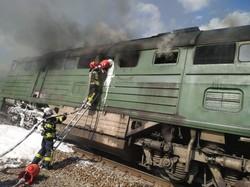 Несчастливая «чертова дюжина»: 13 августа горело два тепловоза «Укрзализныци»