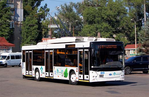 В Запорожье рассказали о троллейбусах, которые запустят на маршрут до острова Хортица