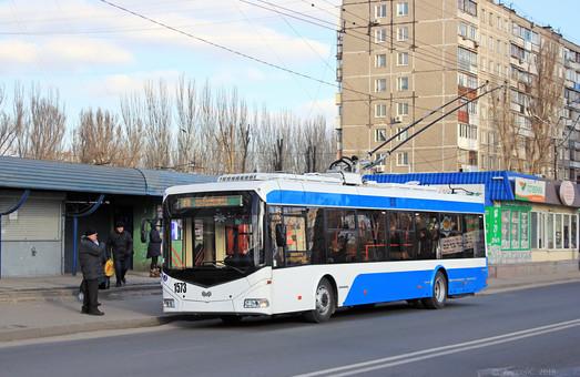 Днепр за средства кредита ЕБРР покупает троллейбусы с автономным ходом с питанием от суперконденсаторов
