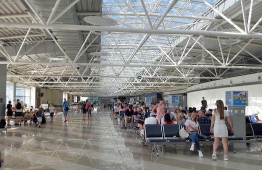 Расконсервированный терминал «F» аэропорта Борисполь уже обслужил миллион пассажиров