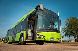 Литовский город Каунас начал получать новые польские троллейбусы «Solaris» (ФОТО, ВИДЕО)