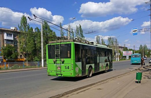 В оккупированном Луганске сейчас работает один троллейбусный маршрут